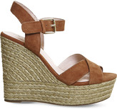 Office Ahoy suede wedge sandals