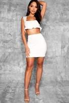 boohoo Josie Fitted Mini Skirt