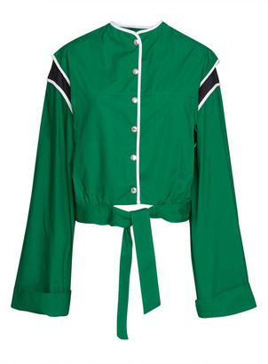 Plan C Tie-hem Oversized Jacket