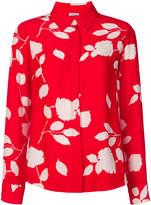 P.A.R.O.S.H. leaf print blouse