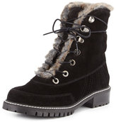 Stuart Weitzman Forest Faux-Shearling Hiker Boot