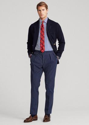 Ralph Lauren Striped Cotton-Blend Suit Trouser