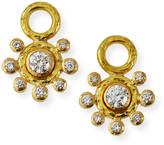 Elizabeth Locke 19k Diamond Earring Pendants