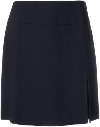 Giorgio Armani Pre-Owned front slit mini skirt