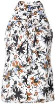A.L.C. floral print top - women - Silk - 6