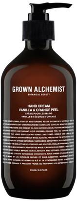 GROWN ALCHEMIST Vanilla & Orange Peel Hand Cream