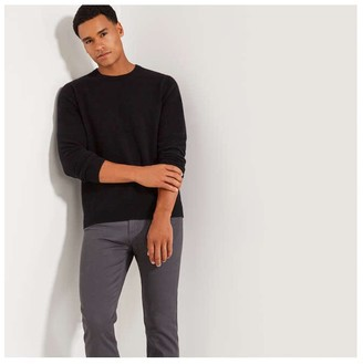 Joe Fresh Mens Cashmere Sweater, Black (Size S)