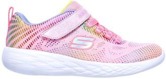 Skechers Girls Go Run 600 Shimmer Speeder Trainers - Pink