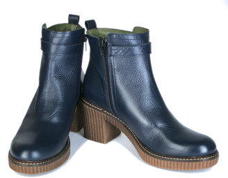 Jonny's Boots with heels, blue - 39