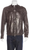 Brunello Cucinelli Leather Work Jacket