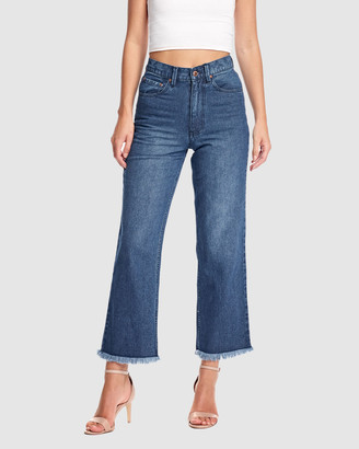RES Denim Women's Blue Jeans - Farrah Wide Jean - Size One Size, 26 at The Iconic