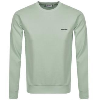 Carhartt Script Sweatshirt Green