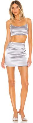 superdown Tijana Rhinestone Skirt Set