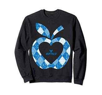 Buffalo David Bitton Bulls Teacher - Argyle Pattern - Apple Gameday Sweatshirt