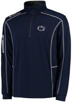 Columbia Unbranded Men's Golf Navy Penn State Nittany Lions Shotgun Quarter-Zip Pullover