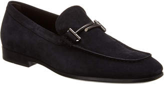 Tod's Double T Suede Loafer