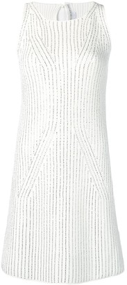 Ermanno Scervino rhinestone-embellished mini dress