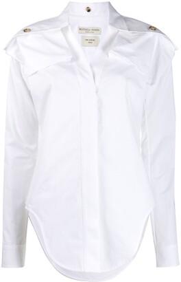 Bottega Veneta shoulder panels shirt