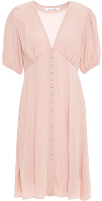 Samsoe & Samsoe Samse Samse Petunia Gathered Crepe De Chine Mini Dress