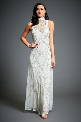 Linzi Jywal London Florence Embellished Evening Maxi Dress