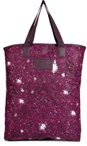 Marc by Marc Jacobs Sequined Print Shopper Tote in Cranberry Multi