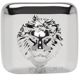 Versus Silver Square Lion Head Ring