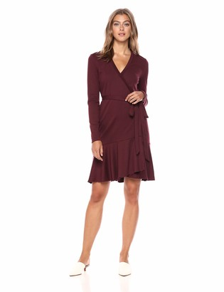 Nicole Miller Women's Ponte Wrap Dress