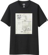 Uniqlo Men Pixart Collection Short Sleeve Graphic T-Shirt