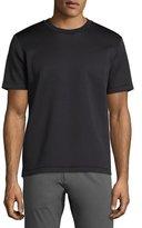 Theory Kaj Diving Neoprene Short-Sleeve T-Shirt, Black