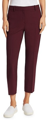 Theory Wool-Blend Cropped Pants