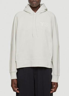 Y-3 Logo Hooded Sweatshirt
