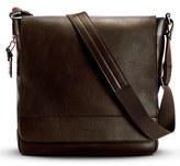 Shinola Men's North/south Leather Messenger Bag - Black