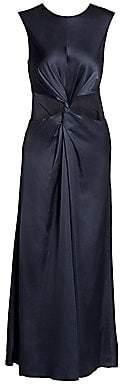 AMUR Women's Inara Knot Cutout Midi Dress