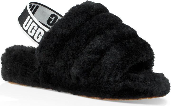 e22ae0ef771 Fluff Yeah Genuine Shearling Slide Slipper