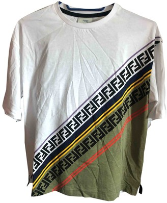 Fendi Multicolour Cotton Tops