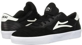Lakai Cambridge (Black/White Suede 1) Men's Shoes