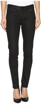Mavi Jeans Adriana Mid-Rise Super Skinny in Black Coated Gold