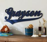 Pottery Barn Kids Varsity Font Name