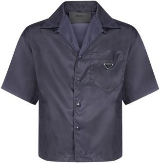 Prada Re-Nylon Short-Sleeve Shirt