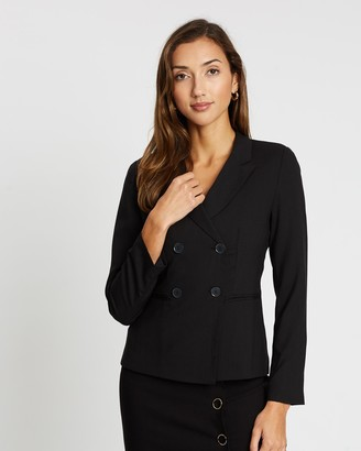 Forcast Bristol Double-Breasted Suit Jacket
