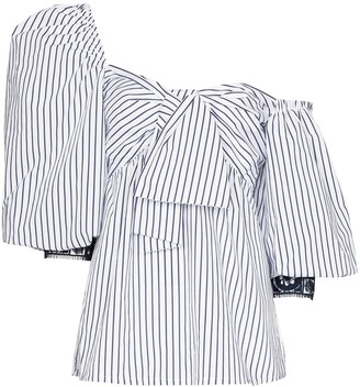 Silvia Tcherassi Aosta striped blouse
