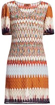 Missoni Chevron Lace Mini Dress