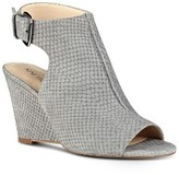 Nine West Women's Gorana Wedge Ankle Strap Sandal