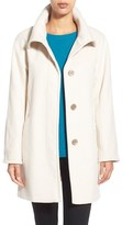 Ellen Tracy Women's Convertible Collar Kimono Sleeve Coat