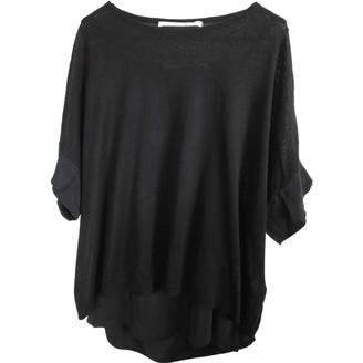 Schumacher Black Silk Knitwear for Women