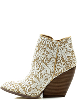 Very Volatile Love Me Lace Bootie