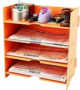 Menu Life Desk File Letter Trays File Desk File Storage Cabinet Box A5 Size