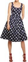 Donna Morgan Allison Burnout Jacquard Dress
