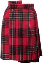 Junya Watanabe Comme Des Garçons asymmetric checked skirt