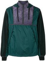 Lanvin shearling trim pullover jacket